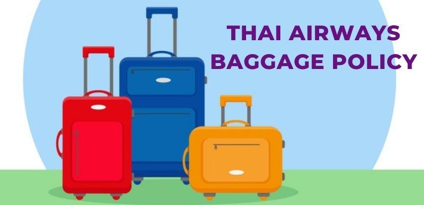 Thai-Airways-Baggage-Policy