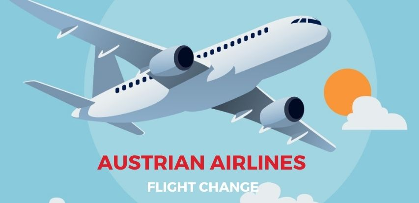 Austrian Airlines Flight Change